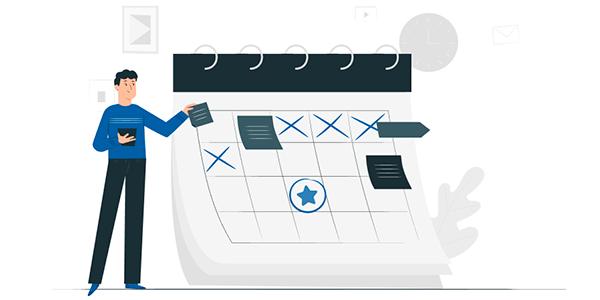 Составление платежного календаря организации